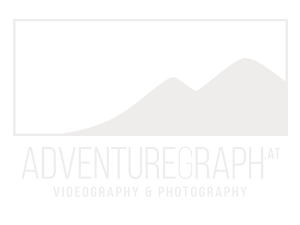 Logo AdventureGraph says AdventureGraph.at - photography and videography