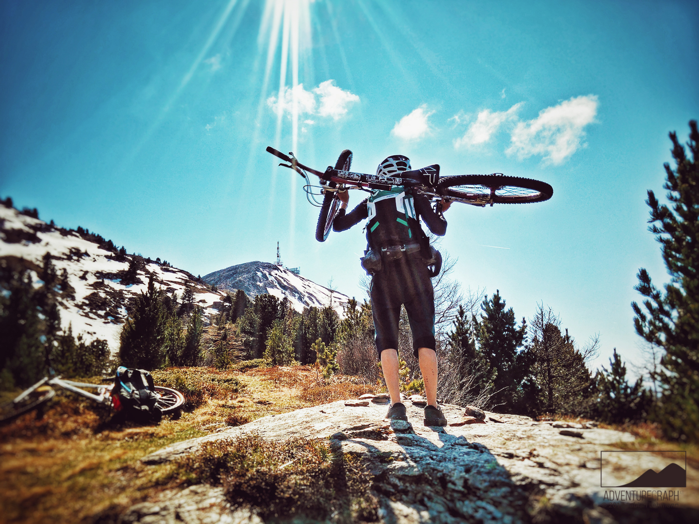 Idea for a enduro, MTB or mountainbike movie: Bike hike in Tyrol, austria.